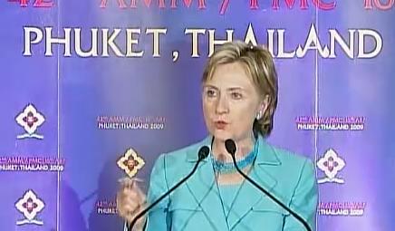 Hillary in thailand